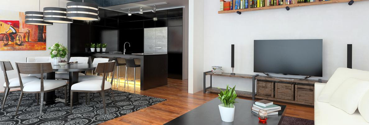 Open Apartment Area (panoramic)