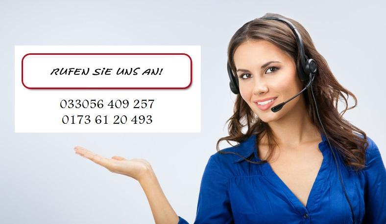 Portrait of happy smiling cheerful beautiful young support phone operator showing, with copyspace area
